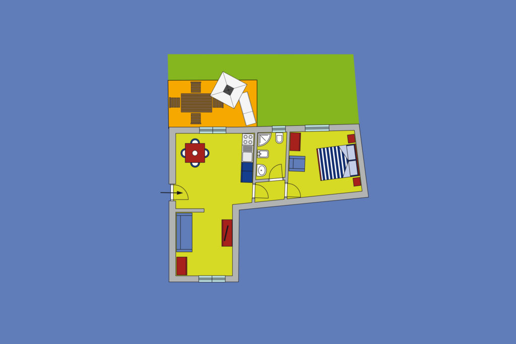 Residence Scirocco e Tramontana, Favignana Appartamento 1T
