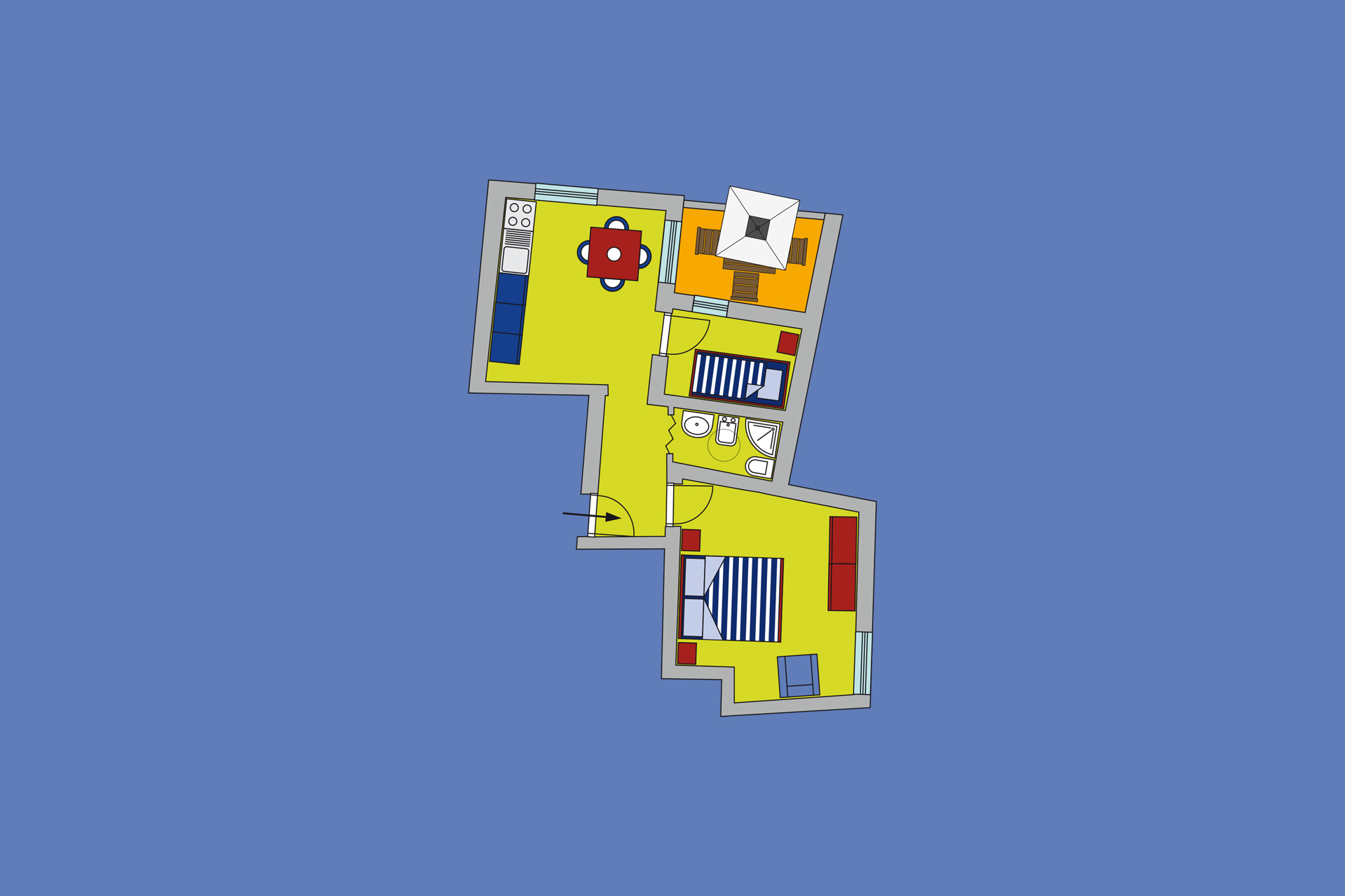Residence Scirocco e Tramontana, Favignana