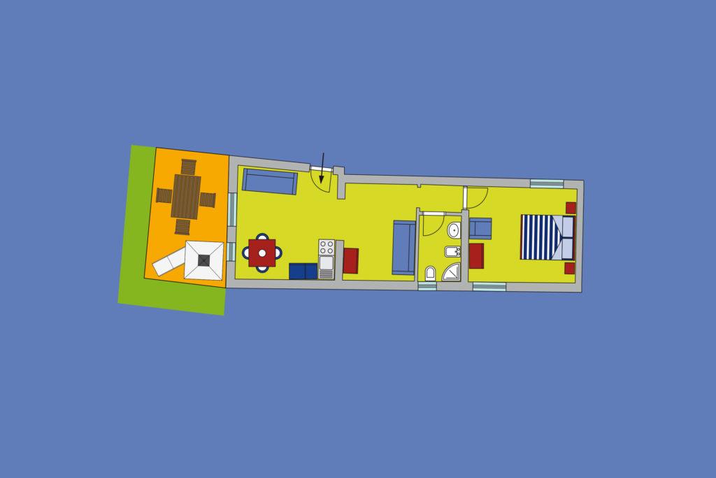 2S appartamento Residence Scirocco e Tramontana Favignana